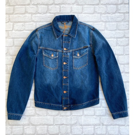 Veste en jean NUDIE JEANS Bleu, bleu marine, bleu turquoise