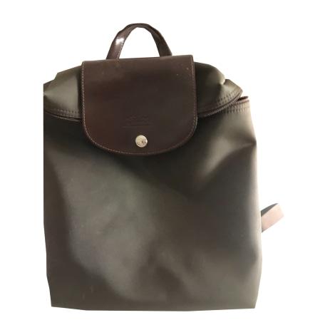 Backpack LONGCHAMP Pliage Brown