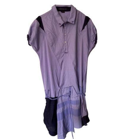 Robe courte MARITHÉ ET FRANÇOIS GIRBAUD Violet, mauve, lavande