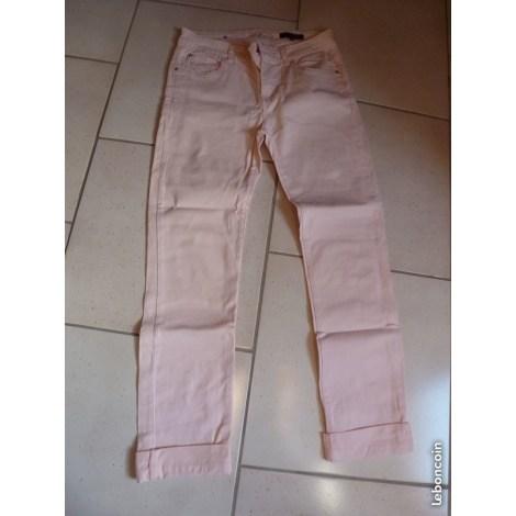 Pantalon droit LOLA LIZA Rose, fuschia, vieux rose