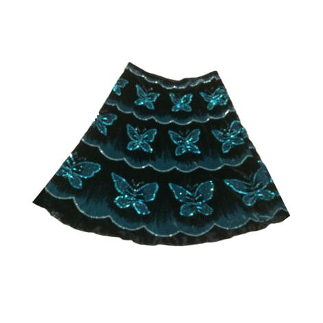 Jupe courte APOSTROPHE Bleu, bleu marine, bleu turquoise