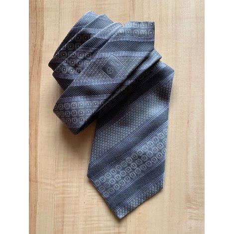 Tie CHANEL Gray, charcoal