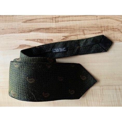 Tie DIOR Green
