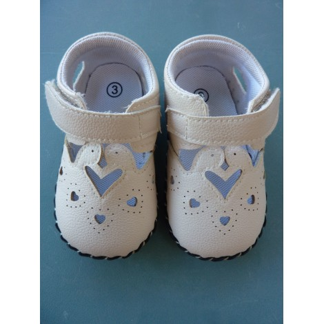 Velcro Shoes MARQUE INCONNUE Beige, camel