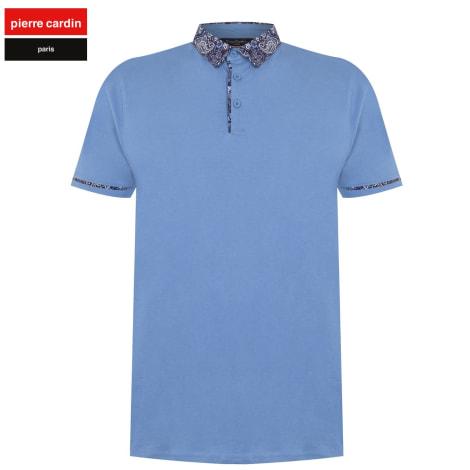 Polo PIERRE CARDIN Bleu, bleu marine, bleu turquoise