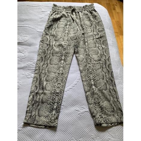 Pantalon droit MARQUE INCONNUE Imprimés animaliers