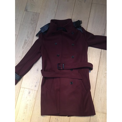 Manteau THE KOOPLES Rouge, bordeaux