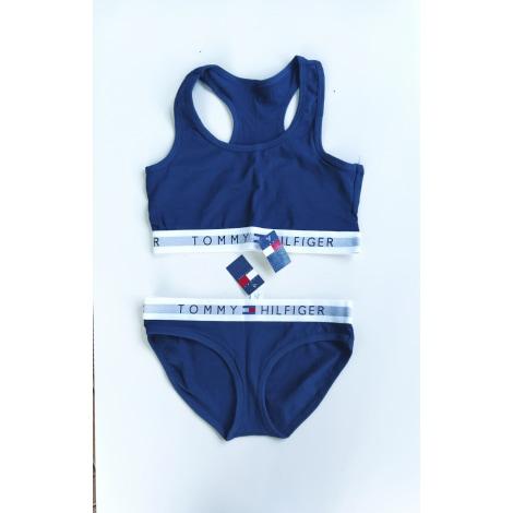 Ensemble, parure lingerie TOMMY HILFIGER Bleu, bleu marine, bleu turquoise