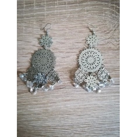 Earrings INDEPENDANT Silver