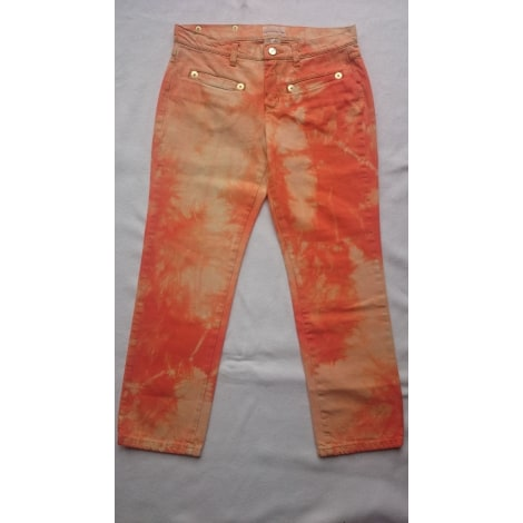 Jeans droit ICEBERG Orange