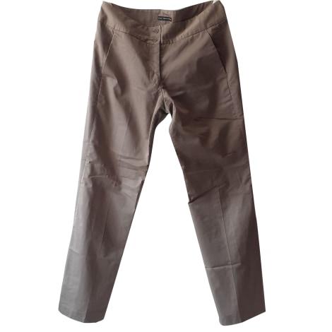 Pantalon droit MARITHÉ ET FRANÇOIS GIRBAUD Beige, camel