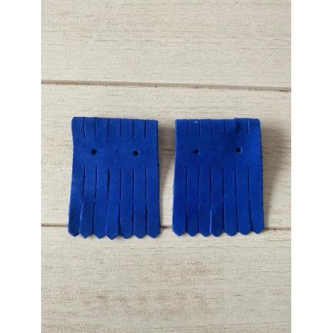 Tie BENSIMON Blue, navy, turquoise