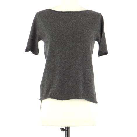 Top, tee-shirt PRADA Gris, anthracite