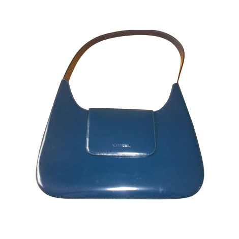 Sac à main en cuir LANCEL Bleu, bleu marine, bleu turquoise
