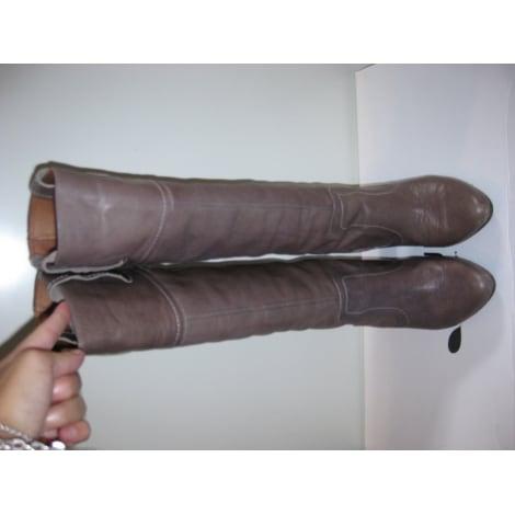 Bottes à talons ANDRÉ Gris, anthracite