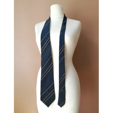 Cravate LANCEL Bleu, bleu marine, bleu turquoise