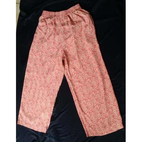 Pantalon large CAROLL Multicouleur