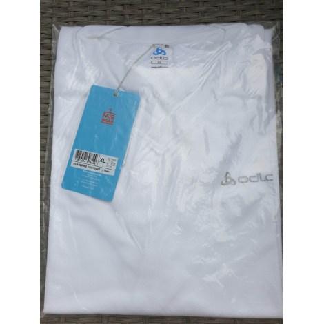 Tee-shirt ODLO Blanc, blanc cassé, écru