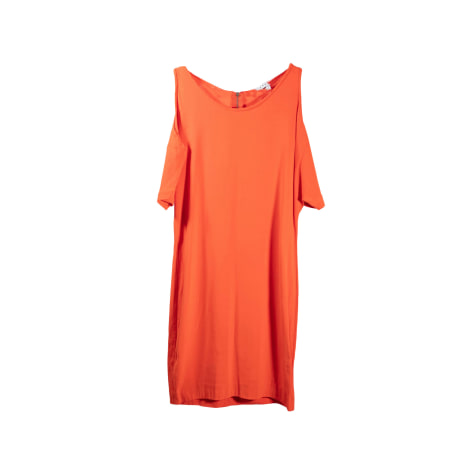 Robe courte SANDRO Orange