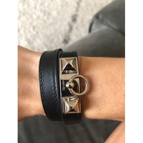 Bracelet HERMÈS Rivale Noir