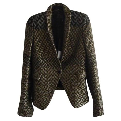 Blazer, veste tailleur HAIDER ACKERMANN Doré, bronze, cuivre
