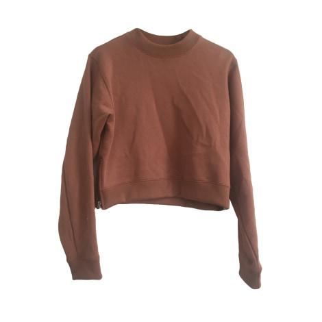 Sweat ACNE Rose, fuschia, vieux rose