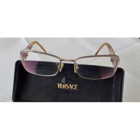 Monture de lunettes VERSACE Beige, camel