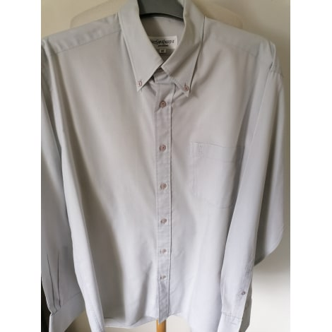 Chemise YVES SAINT LAURENT Gris, anthracite