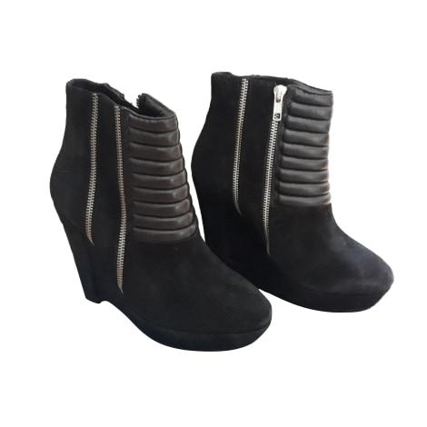 Bottines & low boots à compensés THE KOOPLES Noir