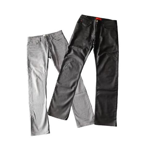 Jeans droit CELIO Gris, anthracite