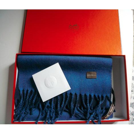 Echarpe HERMÈS Bleu, bleu marine, bleu turquoise