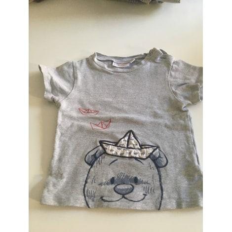 Top, tee shirt NOUKIES Gris, anthracite