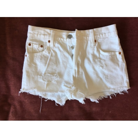 Short LEVI'S Blanc, blanc cassé, écru