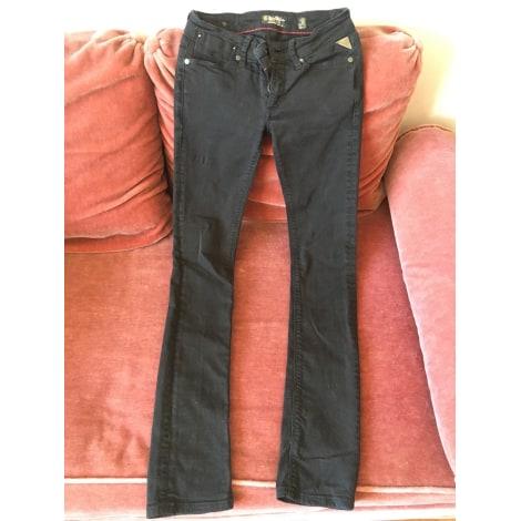 Jeans droit REPLAY Noir