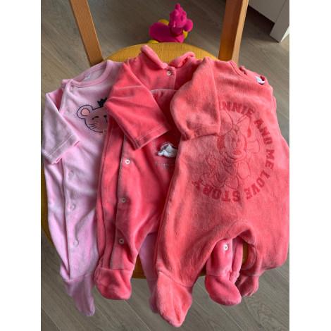Pyjama TAPE À L'OEIL Rose, fuschia, vieux rose