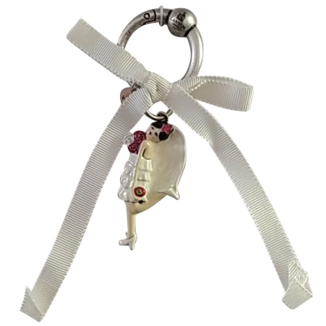 Porte-clés LANVIN Blanc, blanc cassé, écru