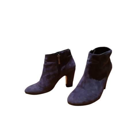 High Heel Ankle Boots COSMOPARIS Blue, navy, turquoise