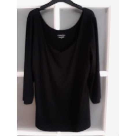 Top, tee-shirt CAMAIEU Noir