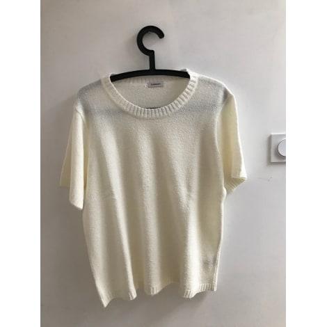 Top, tee-shirt DAMART Blanc, blanc cassé, écru