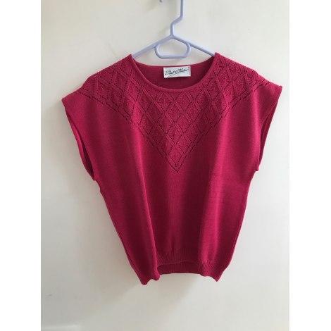 Top, tee-shirt SAINT CHARLES Rose, fuschia, vieux rose