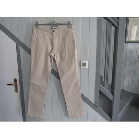 Pantalon droit BRICE Blanc, blanc cassé, écru