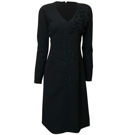 Robe mi-longue CHRISTIAN LACROIX Noir