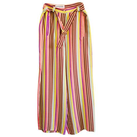 Pantalon large SONIA RYKIEL Multicouleur