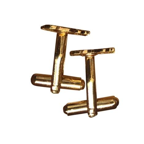 Cufflinks BURBERRY Golden, bronze, copper