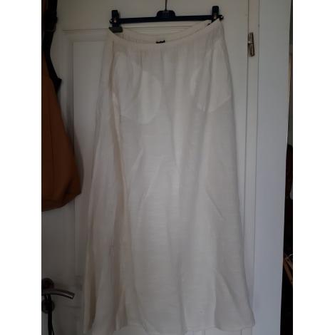 Jupe longue ANIMALE Blanc, blanc cassé, écru