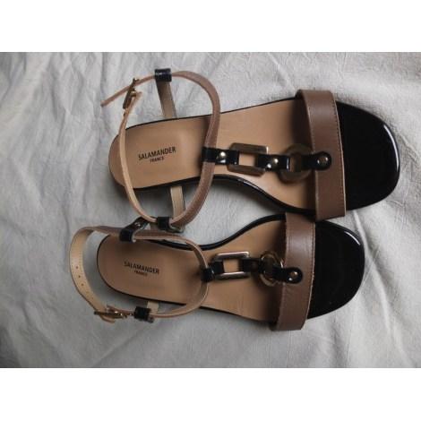 Sandales à talons SALAMANDER Beige, camel