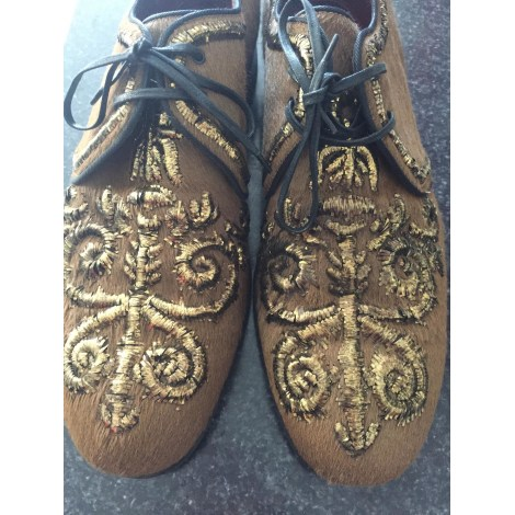 Lace Up Shoes DOLCE & GABBANA Brown