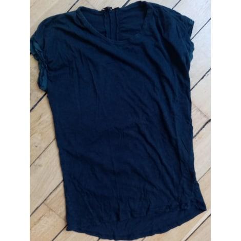 Top, tee-shirt MAJE Gris, anthracite