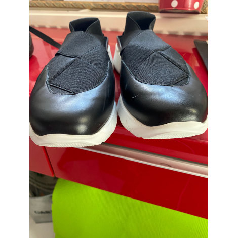 Chaussures de sport ROBERT CLERGERIE NOIRE SEMELLE BLANCHE