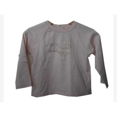 Top, tee shirt BURBERRY Rose, fuschia, vieux rose